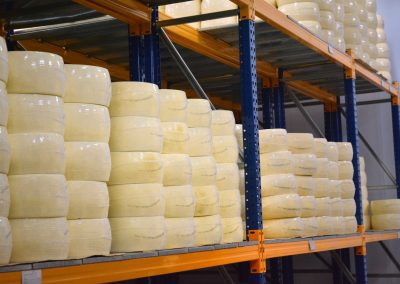 Nakas cheese industry - Cheese store room