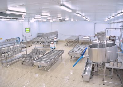 Nakas cheese industry - facilities interior