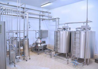 Nakas cheese industry - equipment