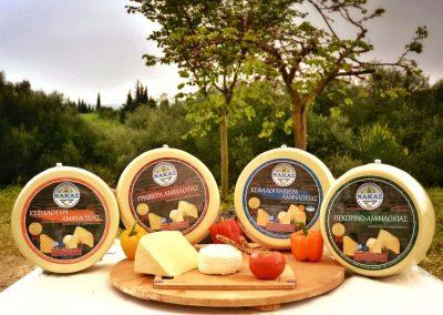 Nakas cheeses - τυριά Αμφιλοχίας Νάκας