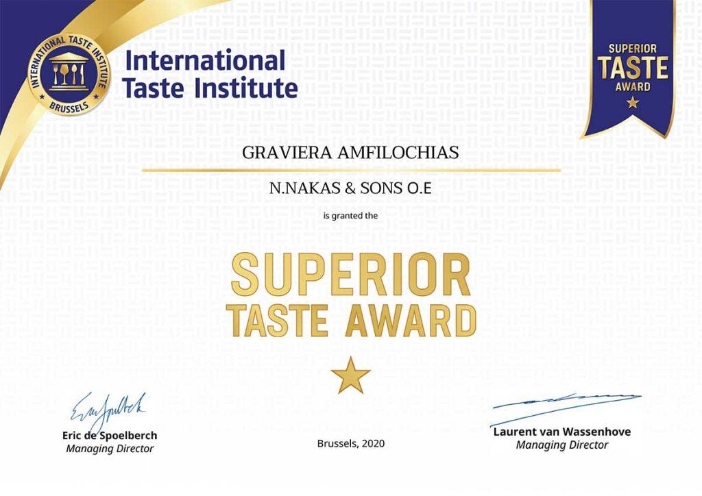 nakascheese-superior-taste-Certificate
